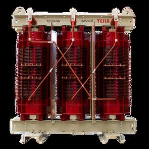 Transformador Trifásico Seco Clase H 1250 kVA serie 36 / 1.1 kV
