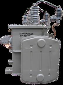 Transformador Trifásico Convencional 150 kVA Serie 15/1.2kV Autoprotegido Transformador Trifásico Convencional 150 kVA Serie 15/1.2kV Autoprotegido