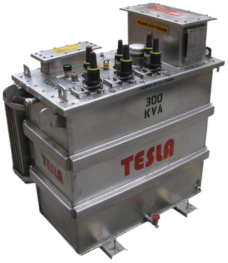 Transformador Trifásico Ocasionalmente sumergible 300 kVA Serie 15 / 1.2 kV