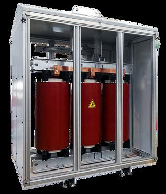 Gabinete de protección IP 54 para Transformador 1000 kVA Serie 36/1.1kV