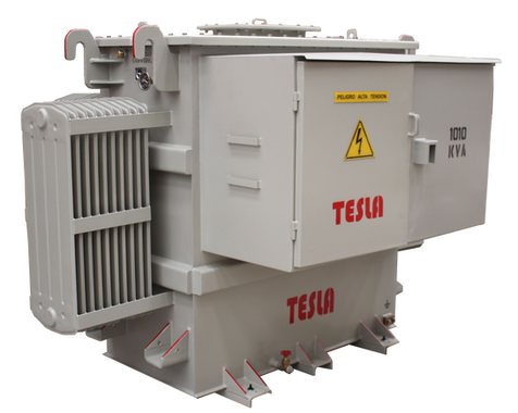 Transformador Trifásico de frecuencia Variable (SUT) 1010 kVA Serie 5 kV