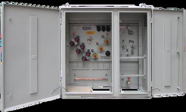 Transformador Trifásico Tipo Pedestal Malla 112,5 kVA Serie 15 / 1.2 kV