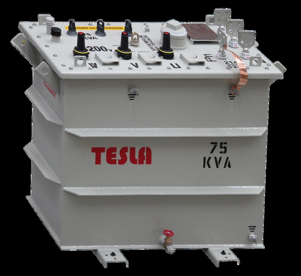 Transformador Trifásico Ocasionalmente Sumergible 75 kVA Serie 15/1.2kV
