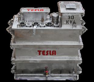 Transformador Trifásico Ocasionalmente sumergible 30 kVA Serie 15 / 1.2 kV
