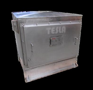 Gabinete de protección IP 66 en acero inoxidable para Transformador 15 kVA Serie 1.1/1.1 kV