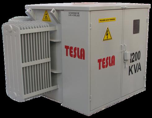 Transformador trifásico Tipo Pedestal Radial 1200 kVA Serie 15 / 1,2 kV