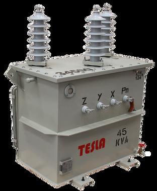 Transformador Trifásico Convencional 45 kVA Serie 34.5/1.2kV
