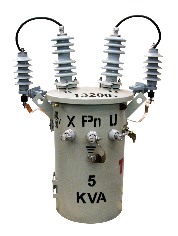 Transformador Monofásico Convencional 5 kVA Serie 15/1.2kV Autoptotegido