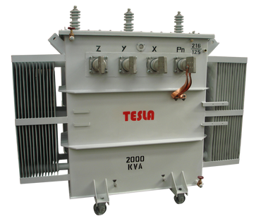 Transformador Trifásico Convencional 2000 kVA Serie 15/1.2kV