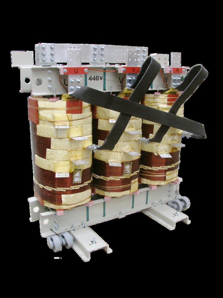 Transformador Trifásico Seco Clase H 1600 kVA serie 1.1 / 1.1 kV