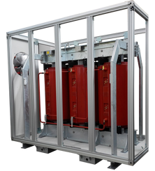 Gabinete de protección IP 54 para Transformador 4000 kVA Serie 36/1.1 kV