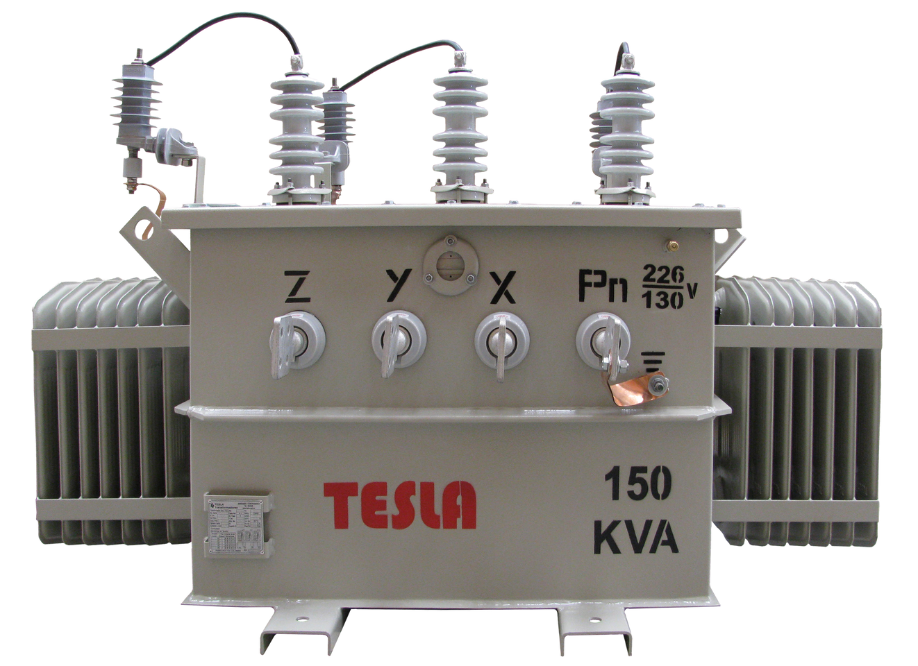 Transformador Trifásico Convencional 150 kVA Serie 15/1.2kV Autoprotegido