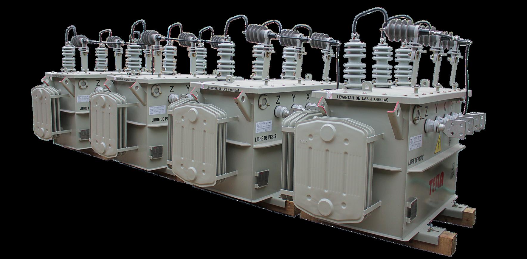 Lote Transformadores Trifásicos Convencionales Serie 15 /1.2kV