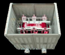 Gabinete de Protección IP 20 para tranasformador 400 kVA Serie 1.1/1.1kV