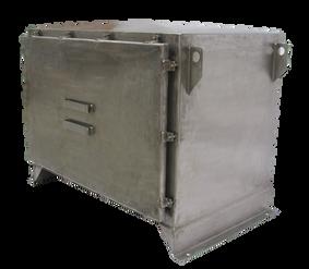 Gabinete de protección IP 66 en Acero inoxidable para Transformador 75 kVA Serie 1.1 /1.1 kV