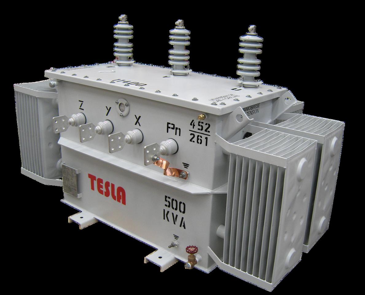 Transformador Trifásico Convencional 500 kVA Serie 15/1.2kV