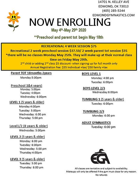 EGA may new schedule.JPG