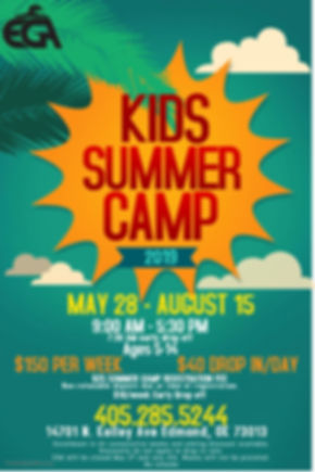 Copy of Summer Camp Poster Template - Ma