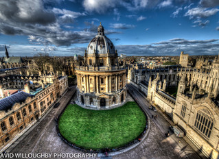 Photographing my hometown Oxford.