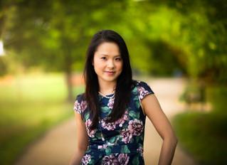 Fashion shot with Mei Lau