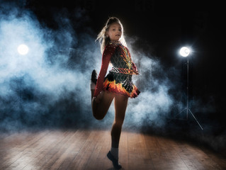 Irish dancing photoshoot