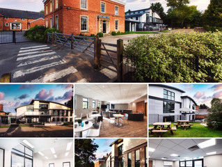 Architectural photography for Cranford House School.