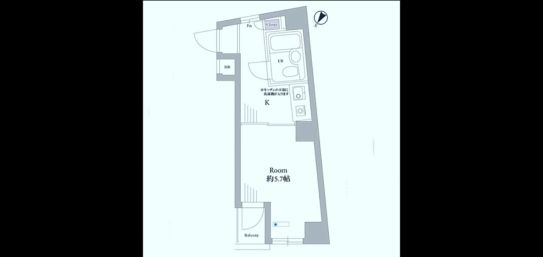 グリーンキャピタル西新宿 Floor Plan.jpg