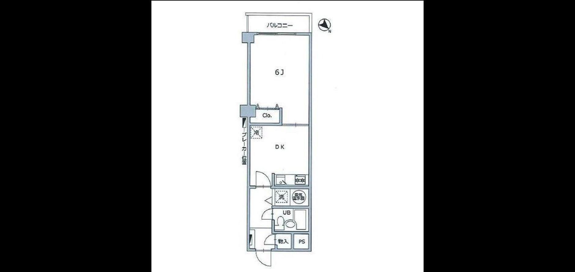 ライオンズステーションプラザ大塚第2 Floor Plan.jpg