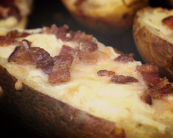 loaded potato skins
