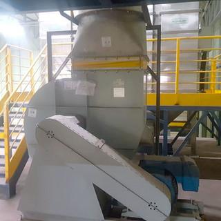 Mezanino metálico para máquinas