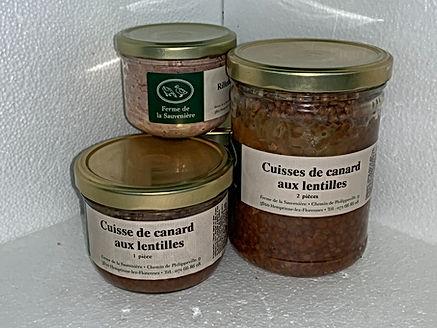 Gamme Cuisses De Canard Aux Lentilles.JP