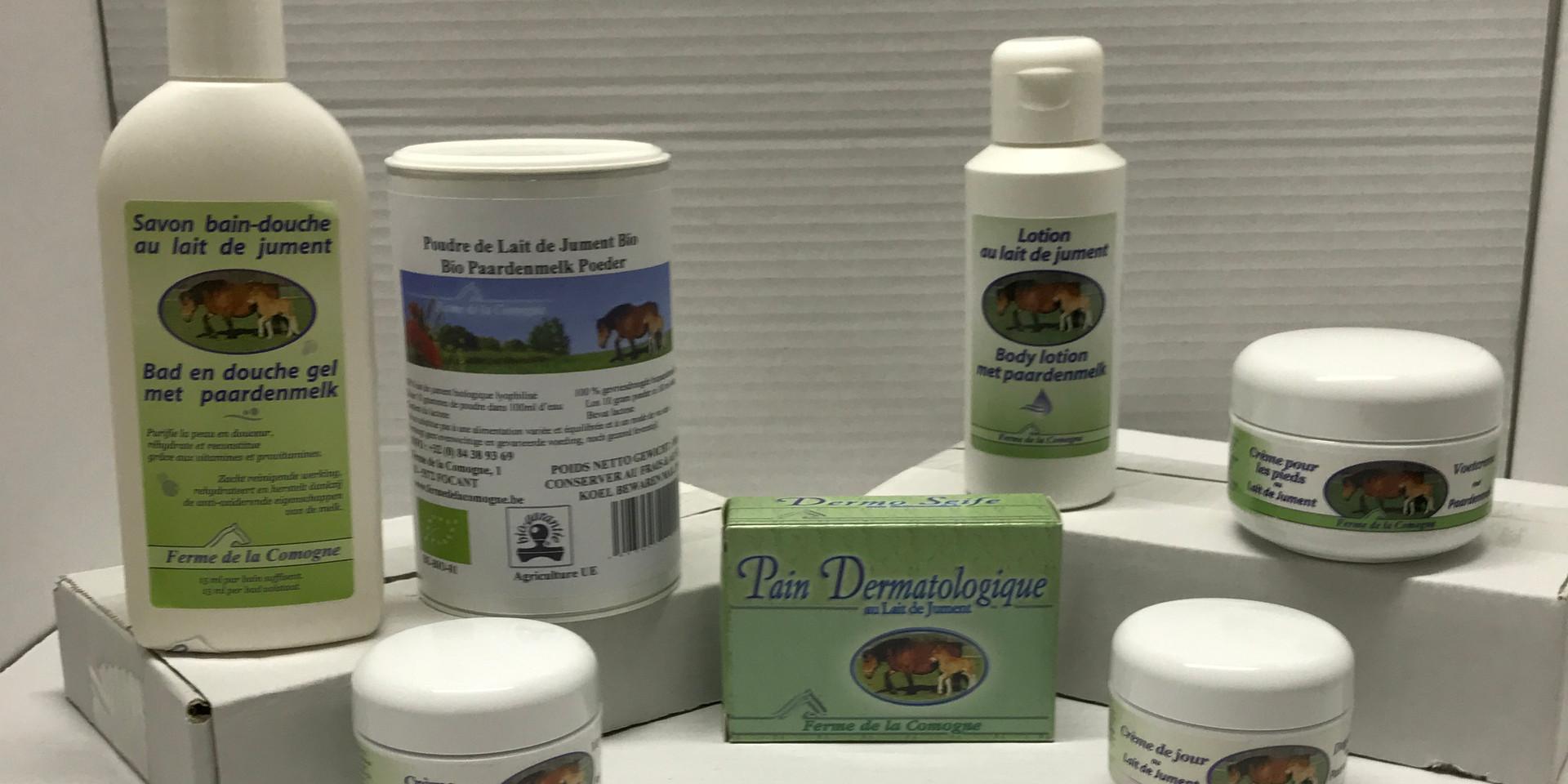 Retrouvez notre selection de produits provenant de la ferme de la Comogne
