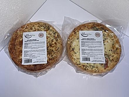 Chèvre - Tomates/Lardons Miel