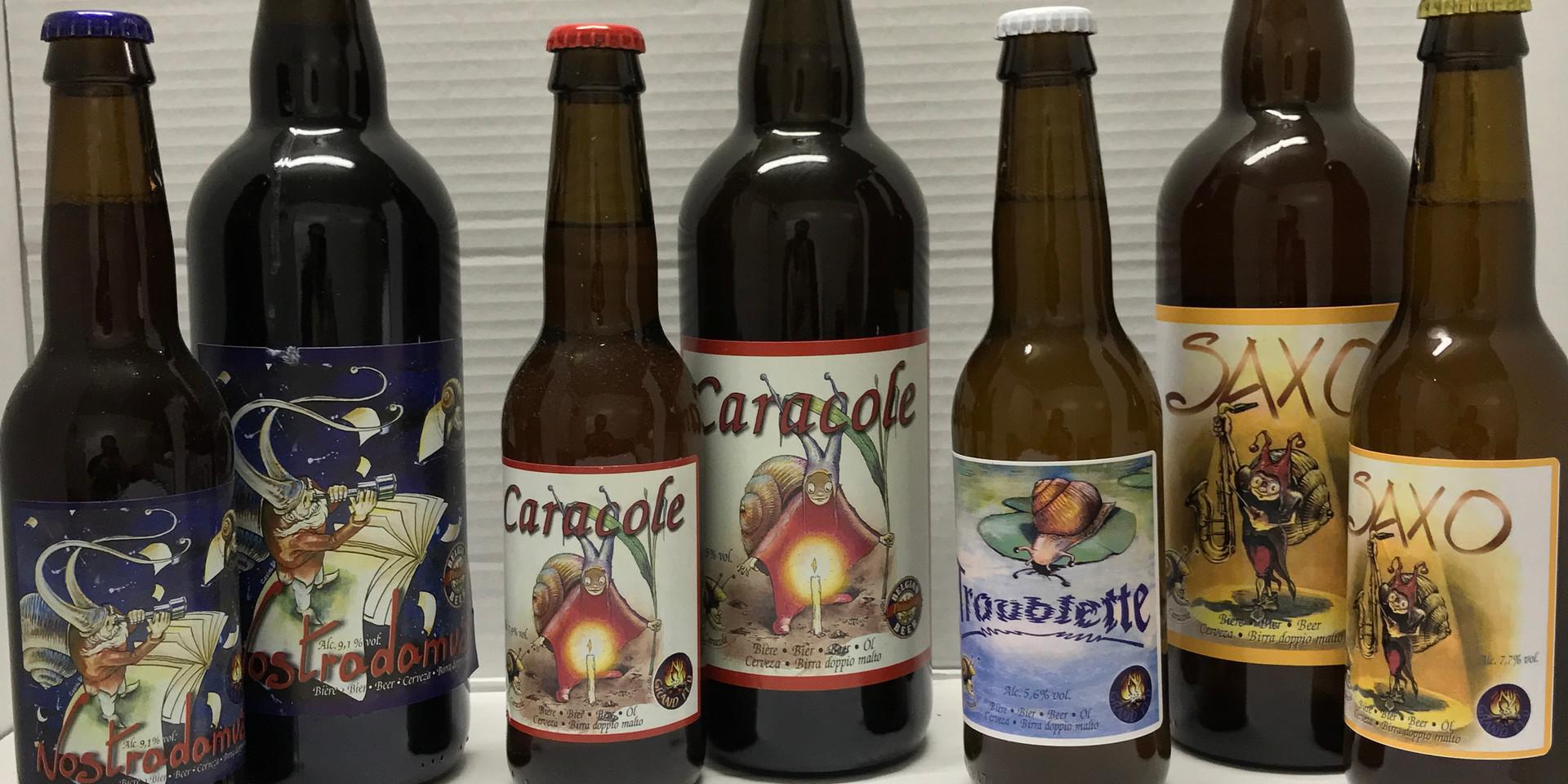 Retrouvez notre selection de produits provenant de la Brasserie Caracole.