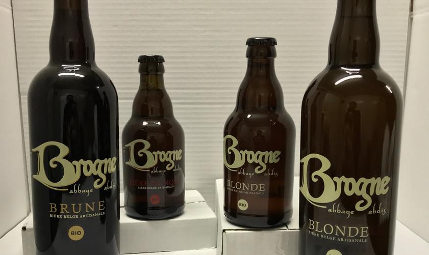 Retrouvez notre selection de produits provenant de l'Abbaye de Brogne