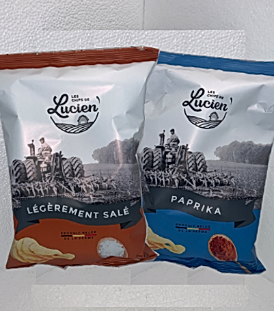 Chips Lucien (Leg. Salée_Paprika)