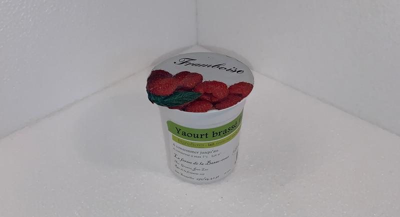 Yaourt Brassé Framboise