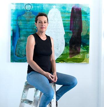Jo Darbyshire, Fremantle studio 2019_pho