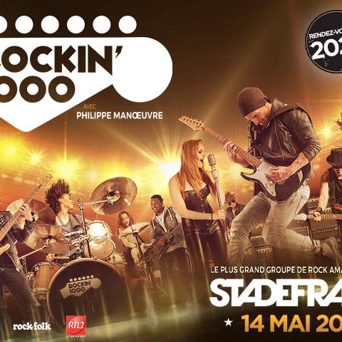 ROCKIN' 1000 - PARIS