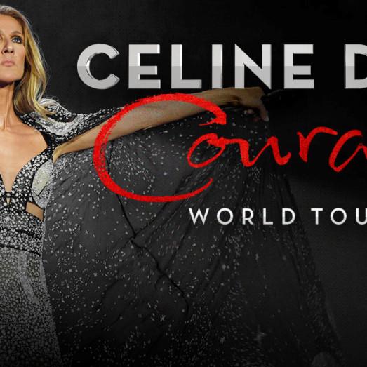 CELINE DION - COURAGE WORLD TOUR 2022 - PACKS VIP