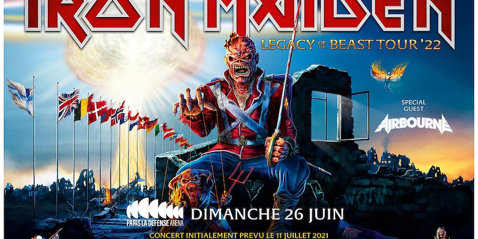 IRON MAIDEN - LEGACY OF THE BEAST TOUR - PARIS