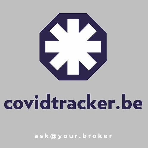 covidtracker.be