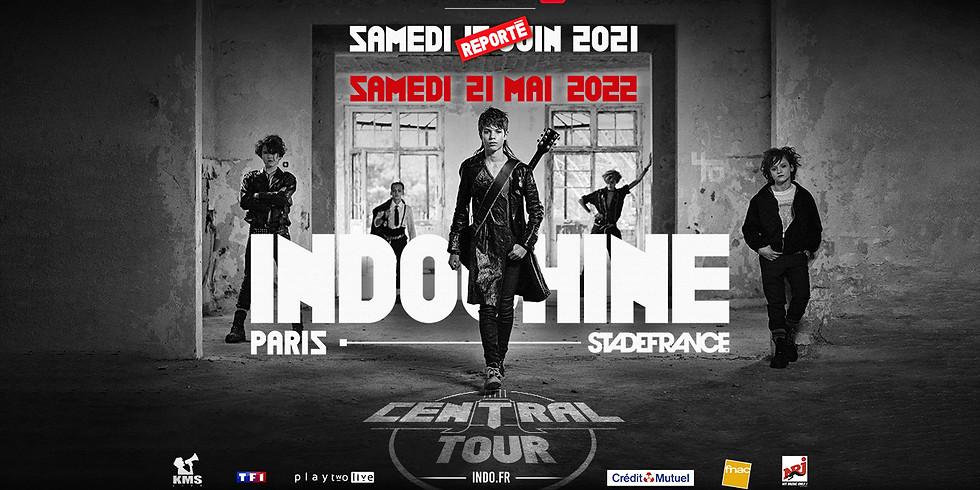 INDOCHINE - CENTRAL TOUR - PARIS - CONCERT REPORTE