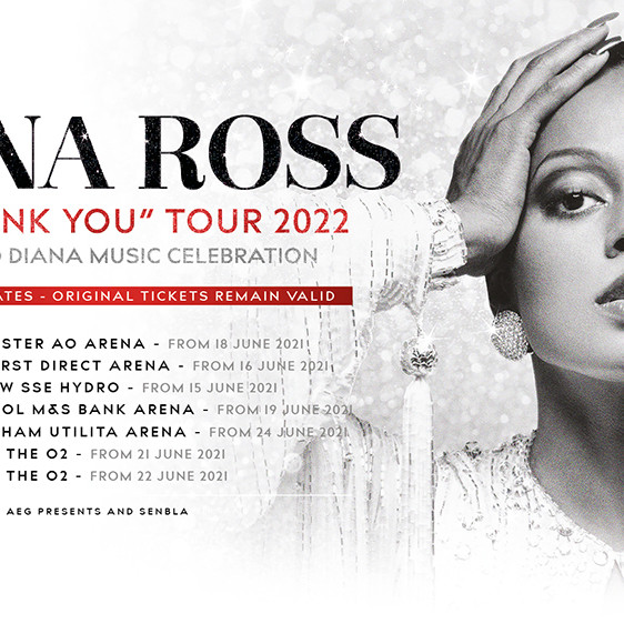 DIANA ROSS - TOP OF THE WORLD TOUR 2022 - PACKS VIP