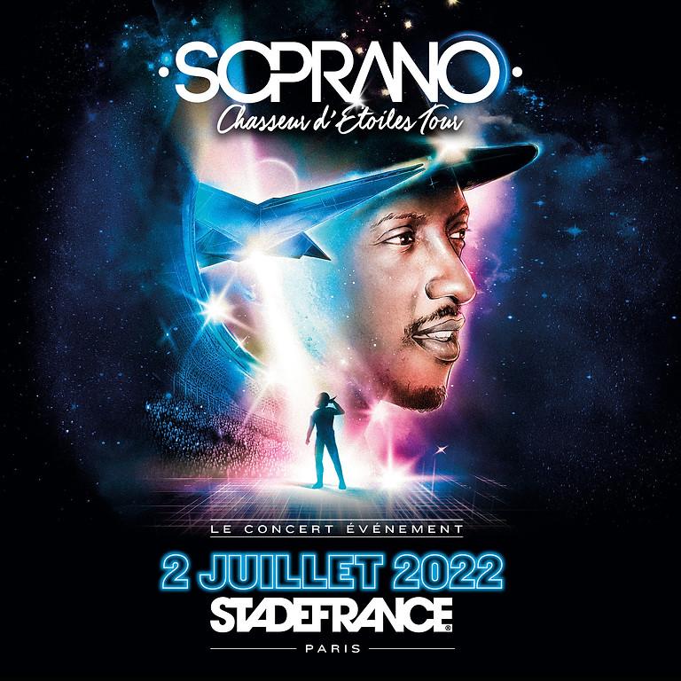 SOPRANO - CHASSEUR D' ETOILES TOUR - PARIS