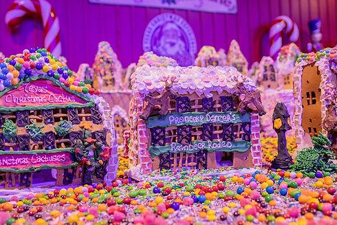 Gingerbread Houses at Santas Wonderland.