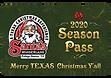 Santa's Wonderland Season Pass Card 2020