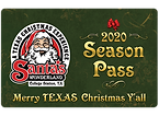 Santa's Wonderland Season Pass Card 2020