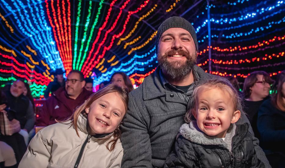 Santa's Wonderland Family in Hayride.jpg