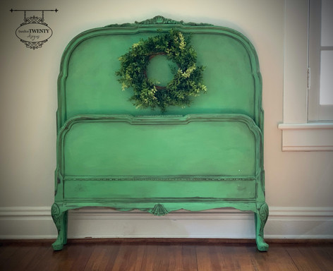 Antique Antibes Twin Bed